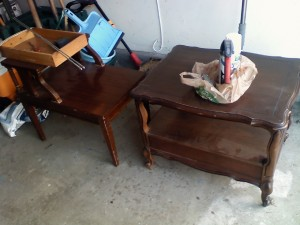 The two thrift tables