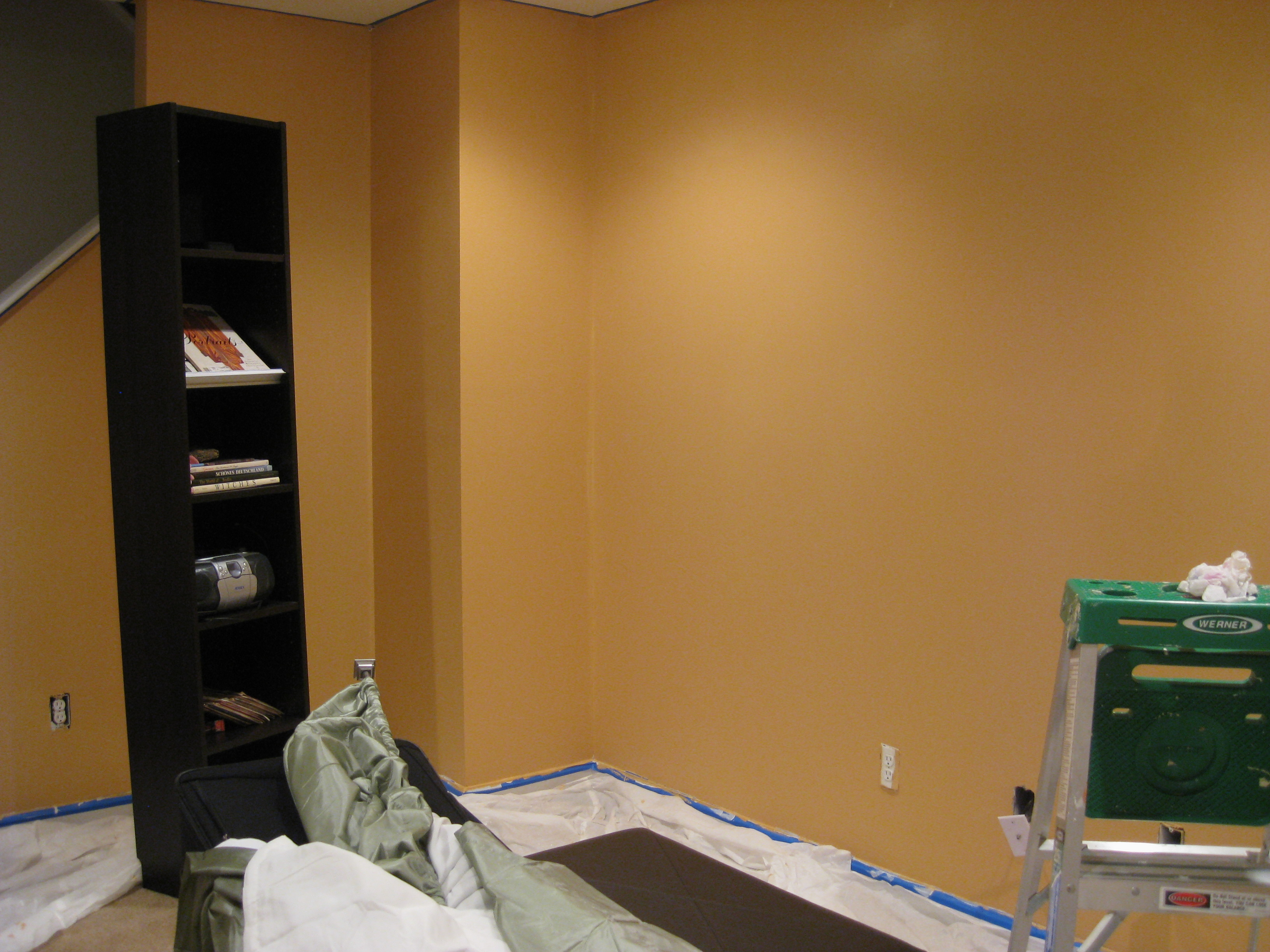 finally chose a front room color tada this my house