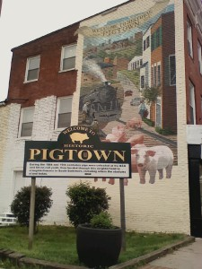 Pigtown sign