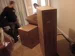 Loveseat in 3 boxes