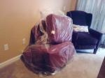 Cushions & sides bagged